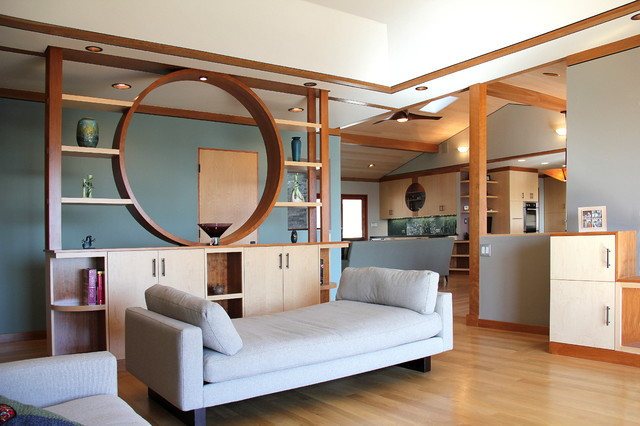 Bay Area Modern - Whole house remodel - Contemporary - Living Room - San Francisco - by Madson ...
