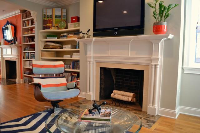 Bay Village Residence modern-living-room