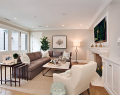 Bayshores Drive beach-style-living-room