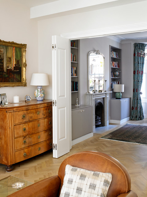 Bayswater Family Home Victorian Living Room London