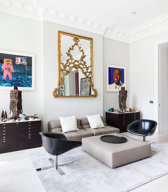 Bayswater Property Eclectic Living Room London By