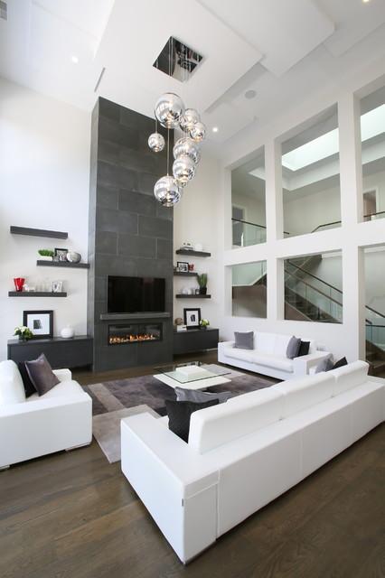 Bayview York Mills Modern Contemporary Living Room