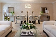 How to Partition the Living Room From the Dining Area