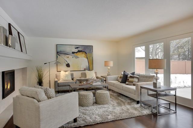 Beach Circle In Eden Prairie Mn Modern Living Room Minneapolis By Carl M Hansen Companies