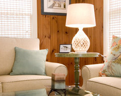 Beach Cottage Living Room traditional living room
