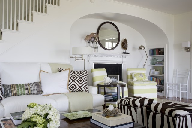Beach Cottage Lr Whimsy Modern Living Room Providence By Kate