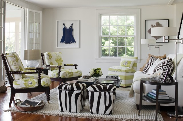 Beach Cottage, Watch Hill, RIEclectic Living Room, Providence