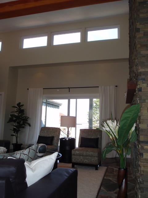 Beach Grove Renovation transitional-living-room