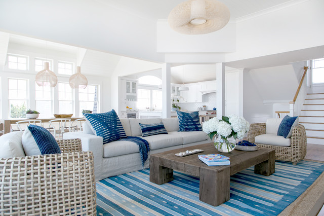 Your Guide To Coastal Style, Images Of Beach House Furniture
