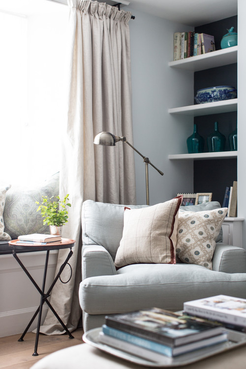 Lee caroline a world of inspiration decorating a for Reasonably priced living room furniture