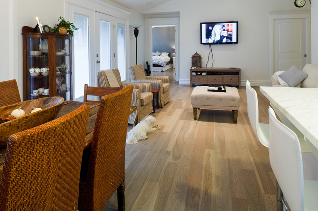 Beach House Contemporary Living Room Ottawa By Gaylord Hardwood Flooring