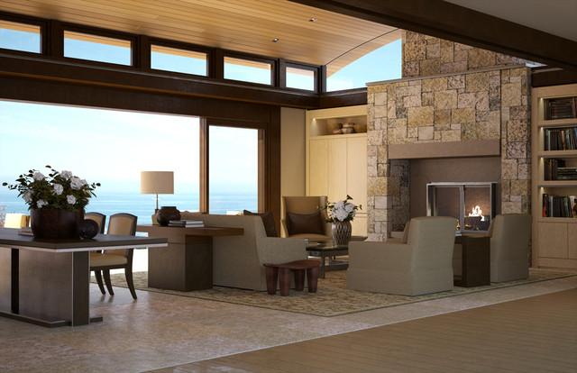 Beach house for Modern beach house living room
