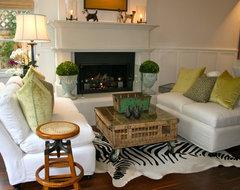 Beach House beach-style-living-room