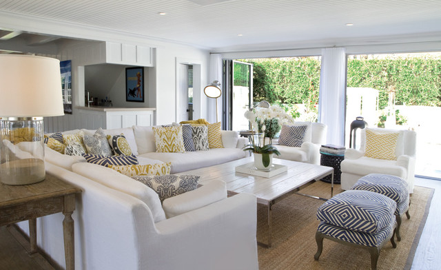 Beach House Living Room - Beach Style - Living Room - New York - by ...
