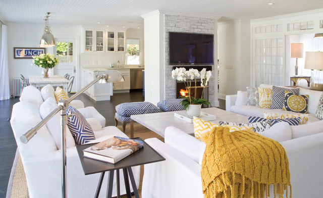 Lovely Beach House Living Room Beach Style Living Room