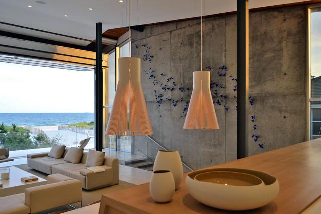 Beach House Living Room beach-style-living-room
