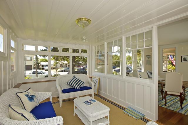Beach House Sunroom