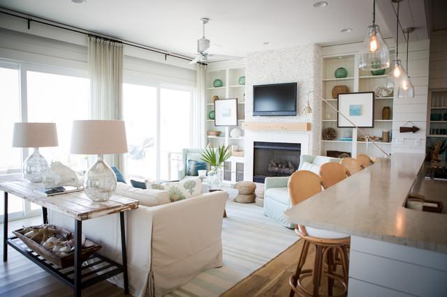 Alys beach beach style living room by ashley for Interior design living room houzz