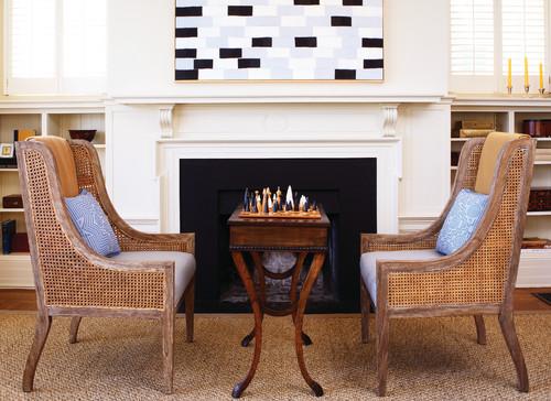 Presidio contemporary living room