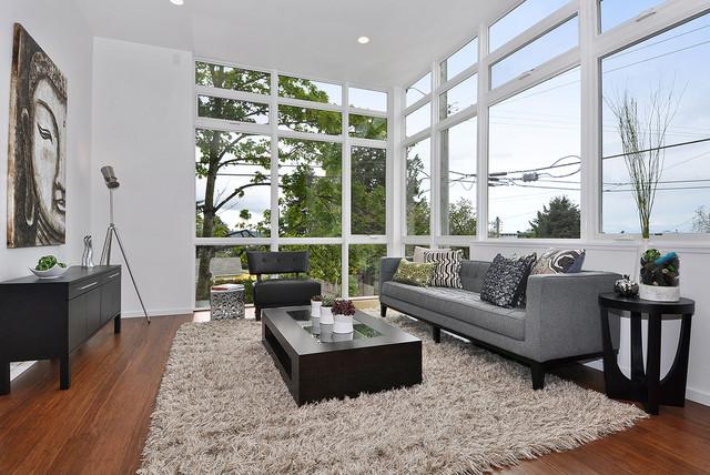 Beachaus I Living Room - Contemporary - Living Room ...