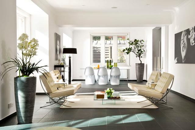 Beachside villa contemporary living room london by for Villa interior designers ltd nairobi kenya