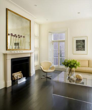 Beacon Hill Townhouse modern-living-room
