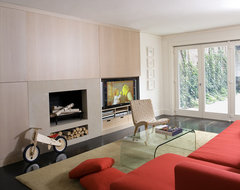 Beacon Hill Townhouse modern-living-room