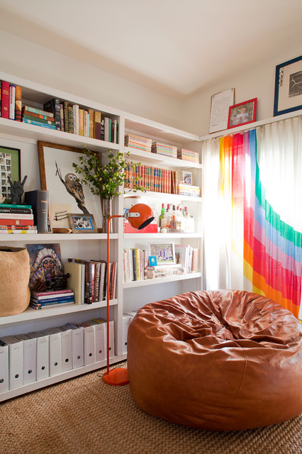 Bean bag chair - Eclectic - Living Room