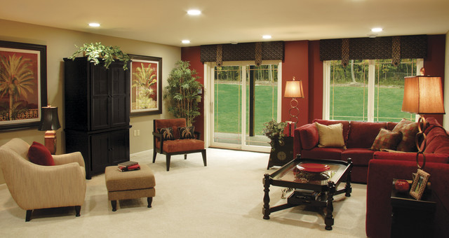 Beaugureau Studios traditional-living-room