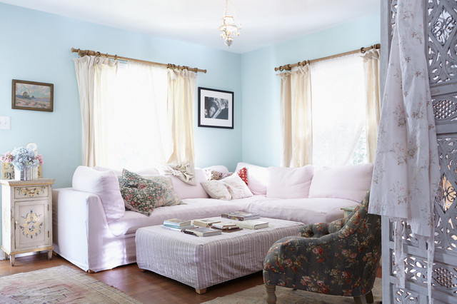 Beautiful Boho In Venice Beach Shabby Chic Style Living Room