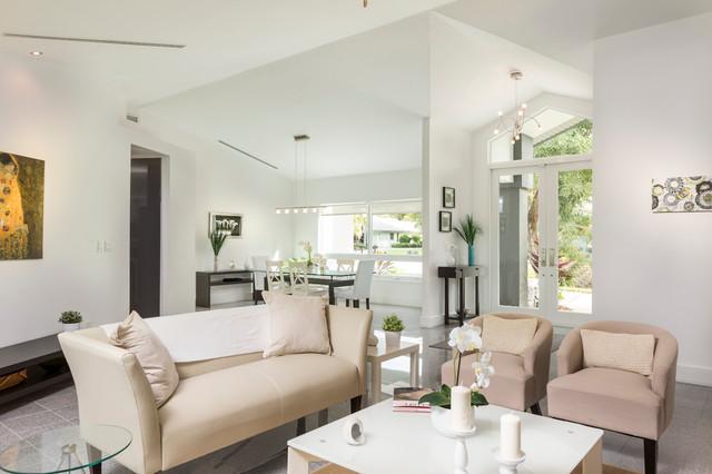 Beautiful Contemporary Naples Home Contemporary Living