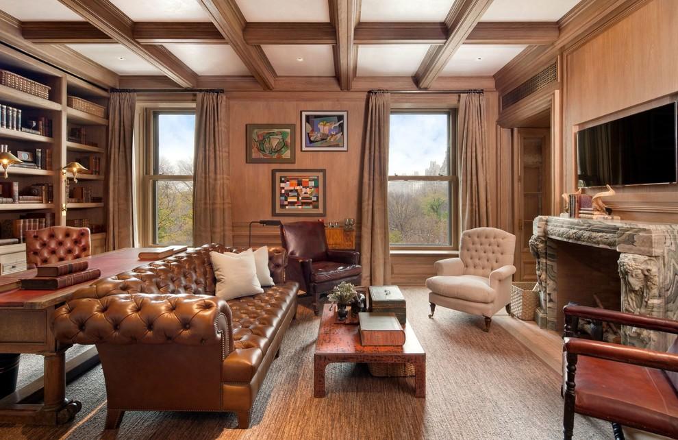 Living room - traditional living room idea in Phoenix