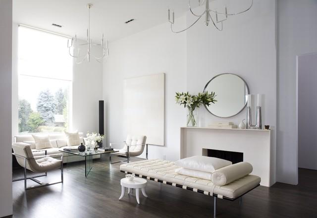 Beautiful Minimalist Home - Modern - Living Room - Denver