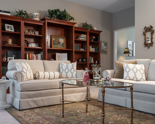Beautiful Neutral Living Room Traditional Living Room St Louis By Swat Design Team For