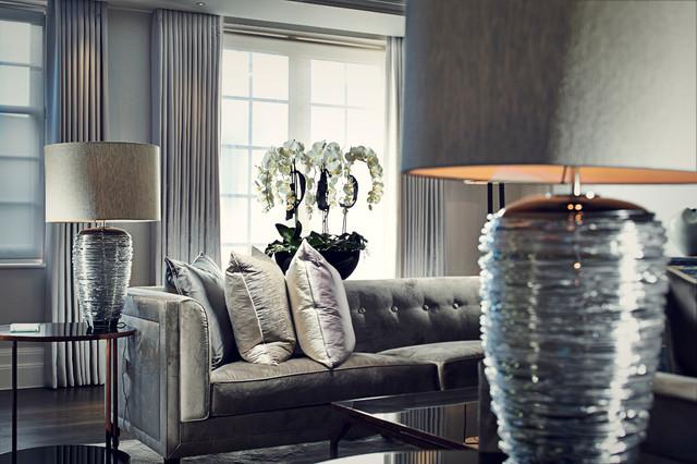 Beautiful Villa In Surrey Contemporary Living Room