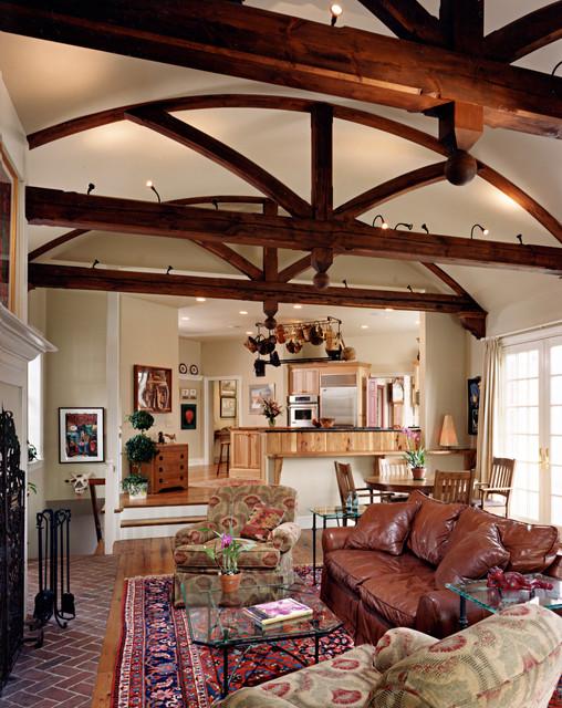 Beaver Dam Residence traditional-living-room