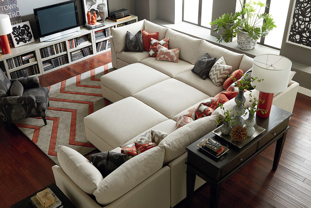 Beckham by bassett furniture the most fun you can have for Fun living room furniture