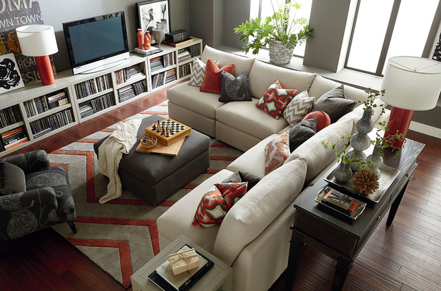 Beckham L-Shaped Sectional by Bassett Furniture ...