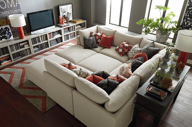 bassett furniture contemporary living room