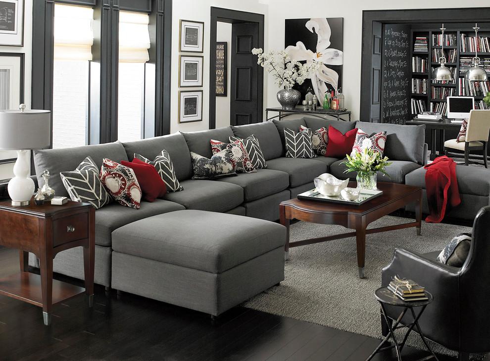 Beckham U Shaped Sectional By Bassett, Bassett Furniture Sectional