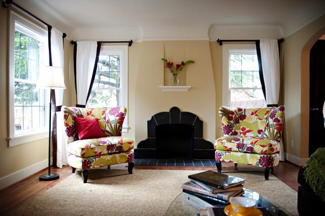 Bed & Breakfast eclectic-living-room