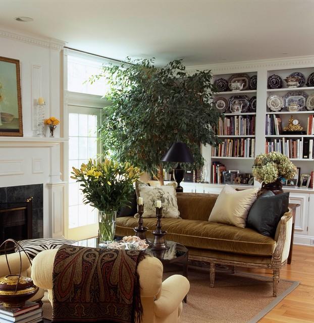 Houzz Farmhouse Living Room: Bedford Farmhouse