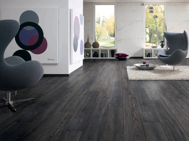 Bedrock Oak Dark Grey With White Wash Grains