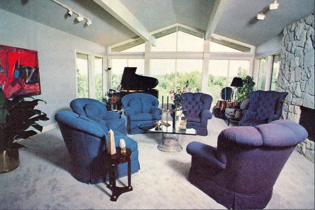 Before and After traditional-living-room