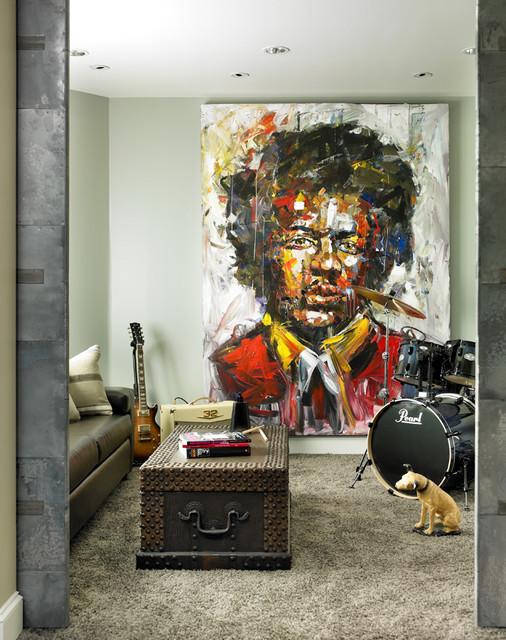 Belair Bluff Court contemporary-living-room