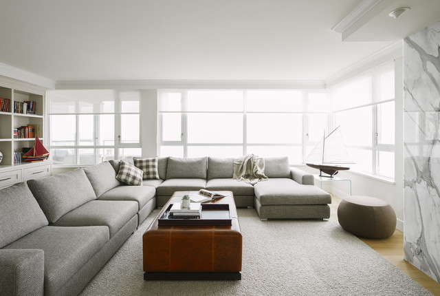Bellevue Avenue, West Vancouver BC transitional-living-room