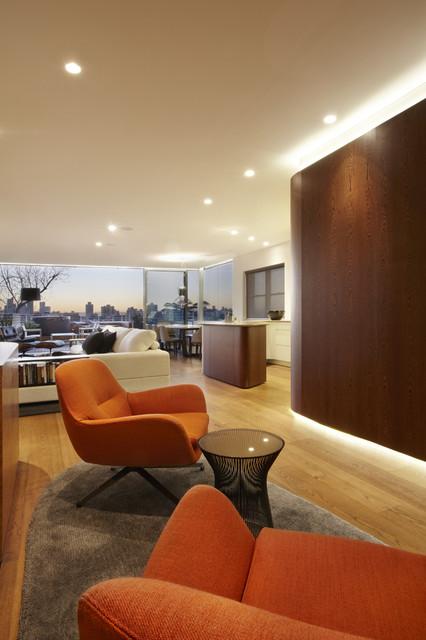 Bellevue hill apartment contemporary living room - Appartement bellevue hill rolf ockert design ...