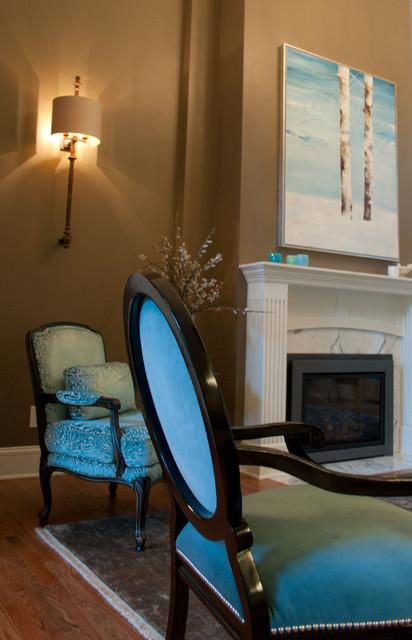 Bellevue Home eclectic-living-room