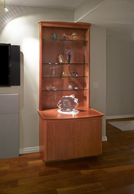 Bellevue Towers Built-Ins - Contemporary - Living Room ...