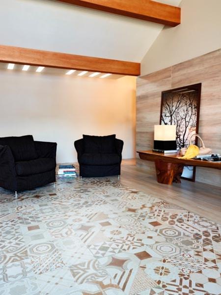 Tile contemporary bathroom toronto by cercan tile inc - Bello Vintage Mix Beige Contemporary Living Room